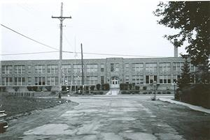 Central Elementary - the original building.